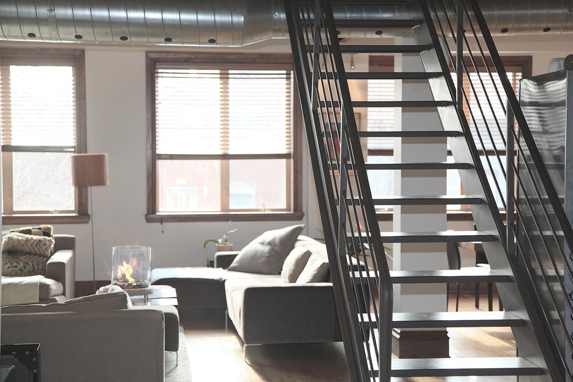 Two storey modern flat