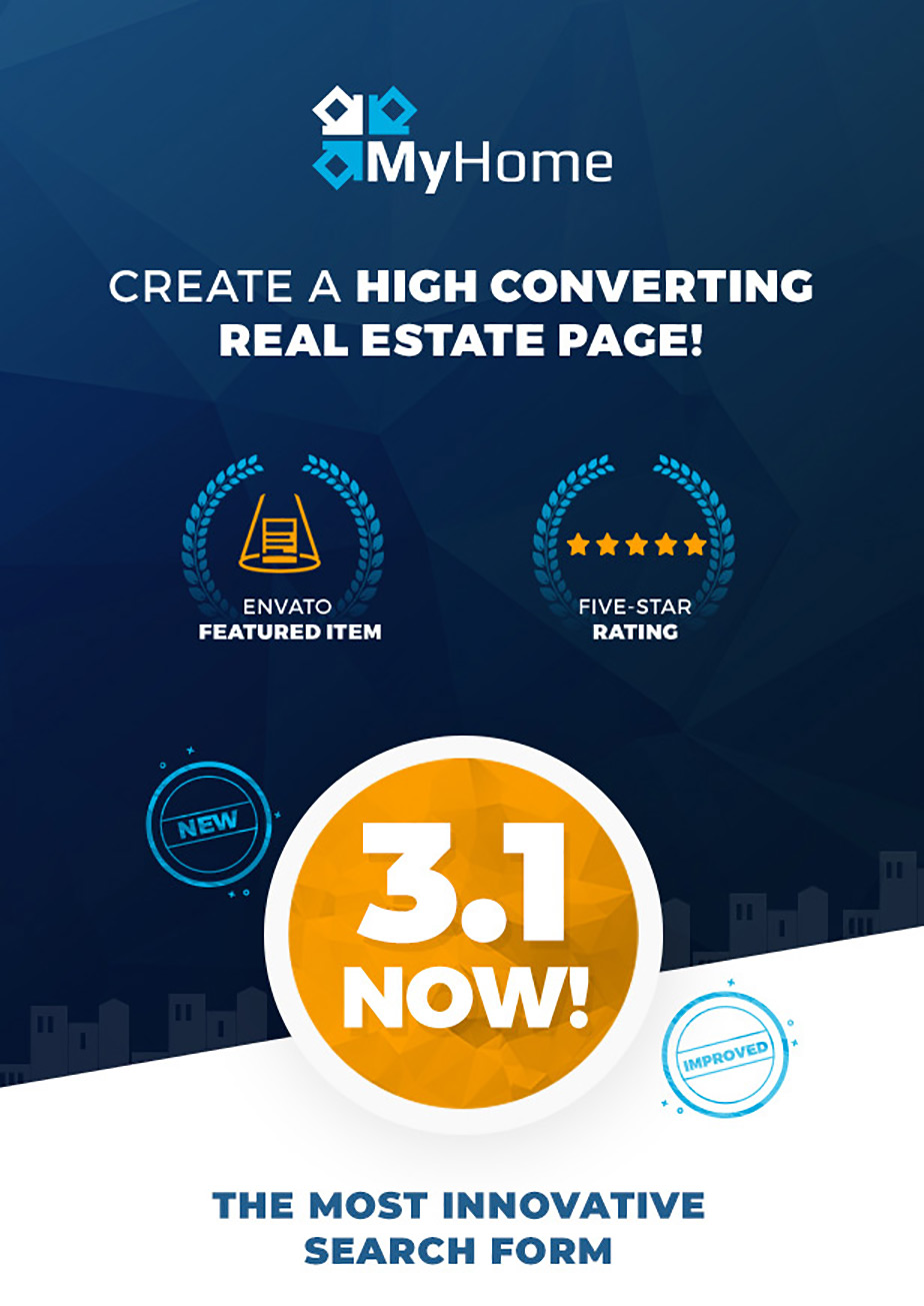 - 1 big - Real Estate WordPress Theme | MyHome