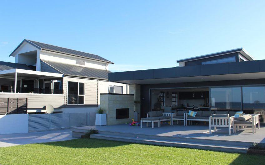 Modern house with a spacious terrace